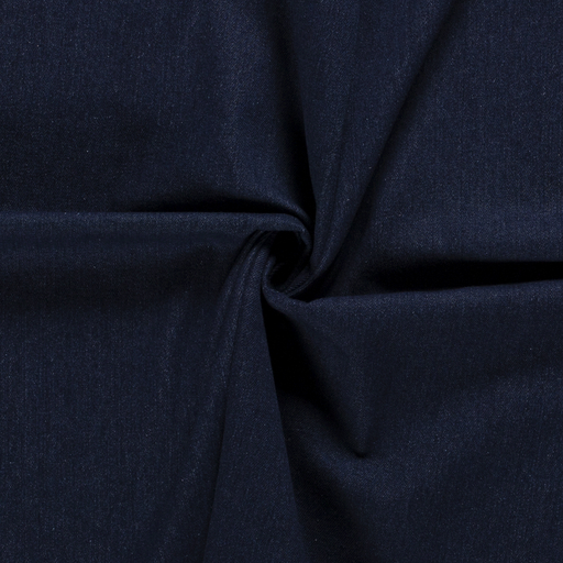Denim brossé twill - navy