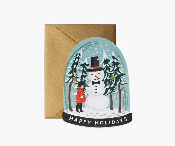 Carte - Holiday Collection - Snow Globe