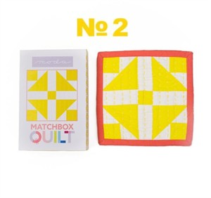 Matchbox Quilt kit