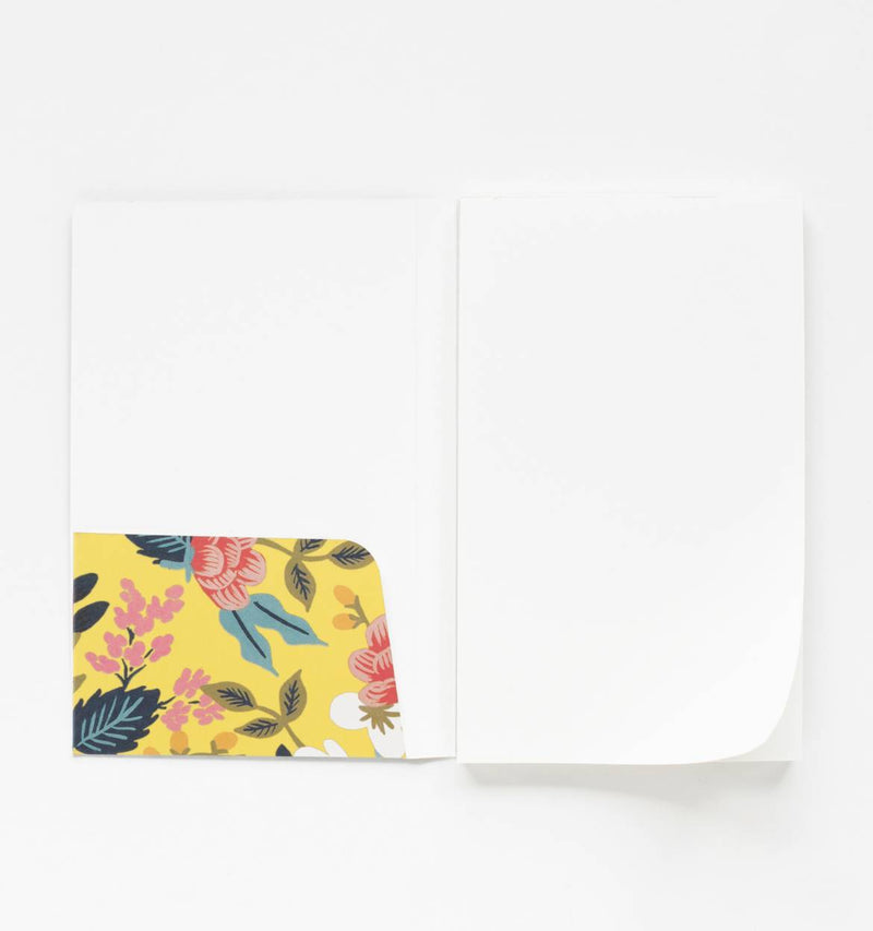 Memo Notepad - Birch Floral