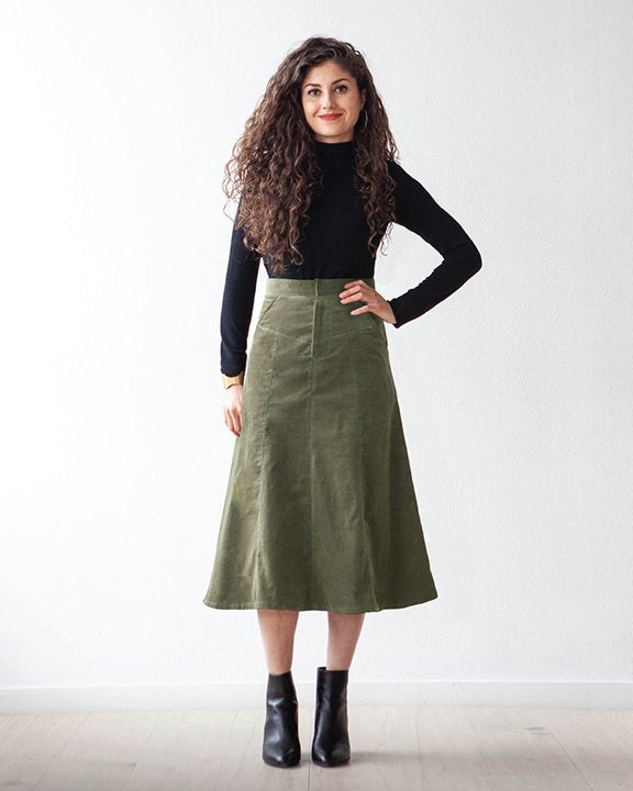 The Salida Skirt - True Bias - patron papier