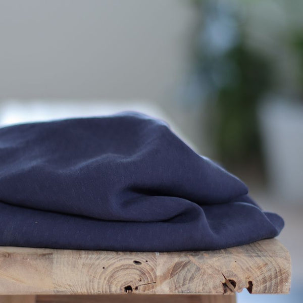 Light Diamond Jacquard - Blueberry - Tencel Lyocell