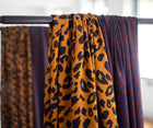Urban Leo - gold - Viscose twill
