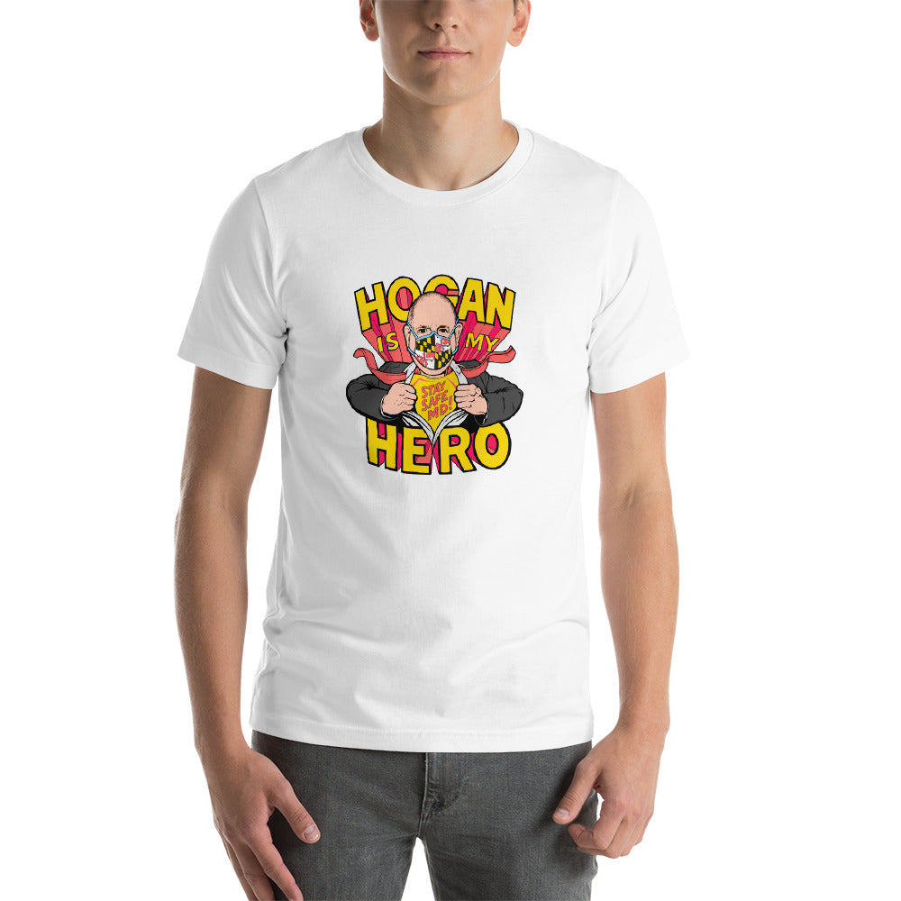 Hogan is My Hero White Short-Sleeve Unisex T-Shirt