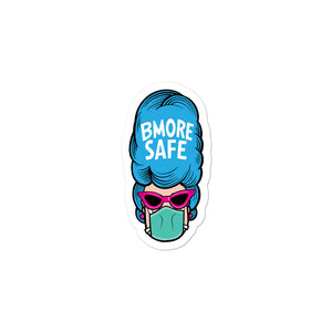 BMORE SAFE Hon Bubble-free stickers
