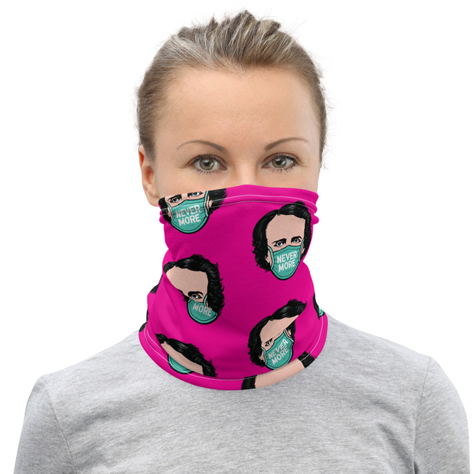Never More Pink Neck Gaiter