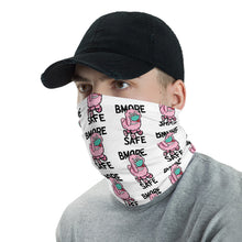 BMORE SAFE Fifi White Neck Gaiter