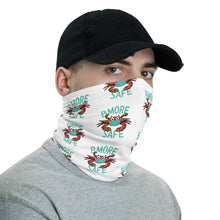 BMORE SAFE Crab Teal/White Neck Gaiter