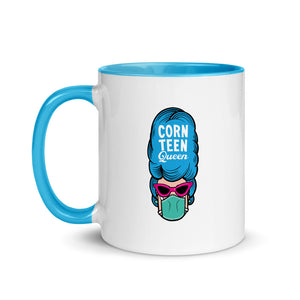 Corn Teen Queen Mug with Color Inside