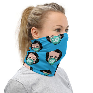 Never More Blue Neck Gaiter