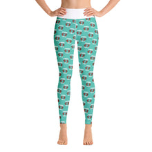 BMORE Safe Crab Teal Yoga Leggings