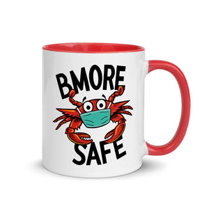 BMORE SAFE Crab Mug with Color Inside