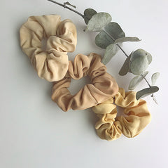 Zero Waste Scrunchies :: Collaboration with Goli June