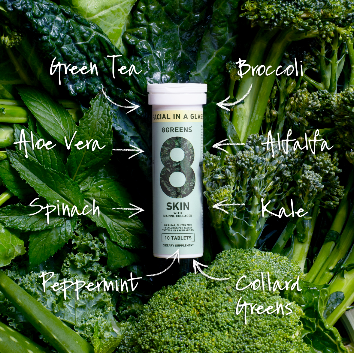 8Greens SKIN Subscription with Refinery29