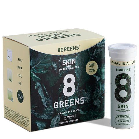 8Greens SKIN Effervescent Tablets