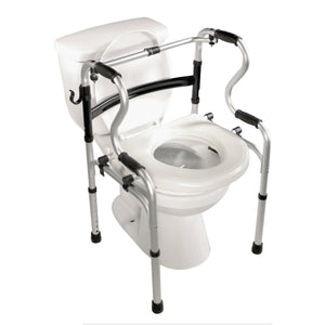 5-in-1 Mobility and Bathroom Aid - Raised Toilet Seat Mode