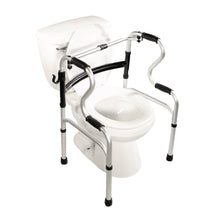 5-in-1 Mobility and Bathroom Aid - Toilet Seat Frame Mode