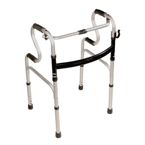 5-in-1 Mobility and Bathroom Aid - Folding Walker Mode