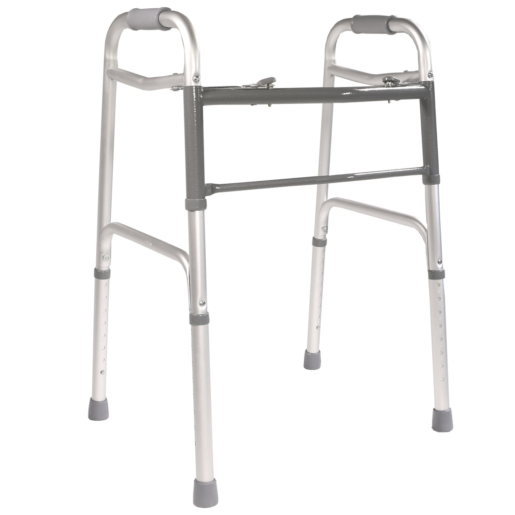 Folding Adjustable Double Release Walker