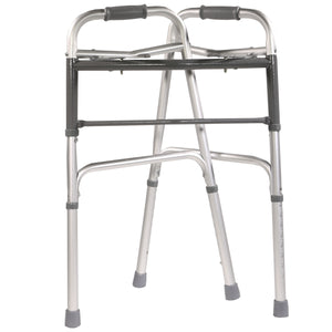 Collapsed Folding Adjustable Double Release Walker