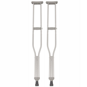 Two Tall Adjustable Crutches