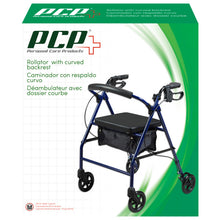 Rollator With Curved Backrest Packaging
