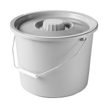 Grey Replacement Full Pail with Lid and Handle