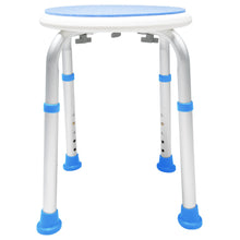 Side of Padded Round Safety Stool