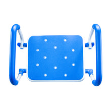 Top View of Padded Bath Safety Seat With Swing Away Arms