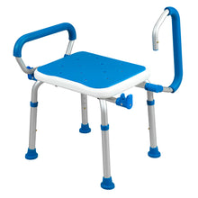 Padded Bath Safety Seat With Swing Away Arms