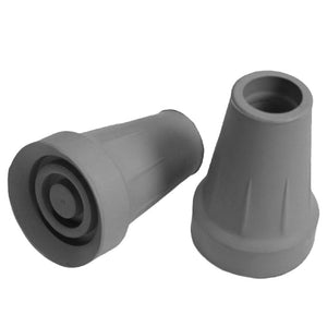 Large Grey Replacement Crutch Tips