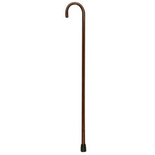 "1"" Mahogany Wood Round Handle Cane"