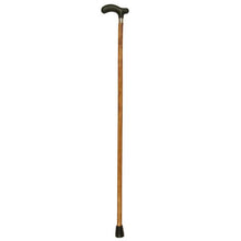 Light Brown Medium Grip Wood Fritz Handle Cane