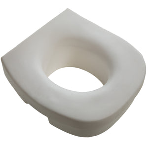 Top of Lightweight Molded Toilet Seat Riser