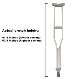Regular Adjustable Crutches Height