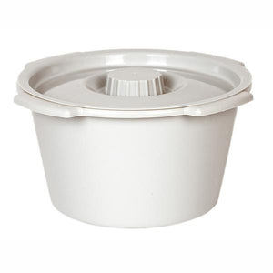 White Replacement Half Pail with Lid