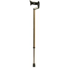 Women's Large Bronze Adjustable Orthopaedic Handle Cane
