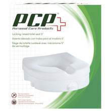 Molded Raised Toilet Seat with Tightening Lock Packaging