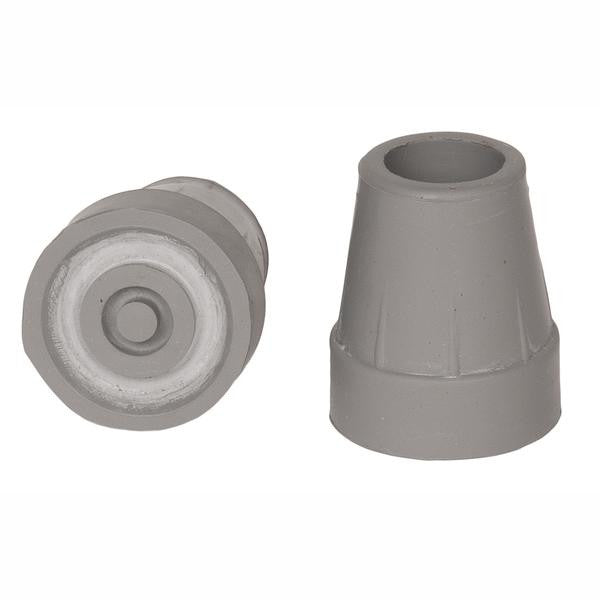 Small Grey Replacement Crutch Tips