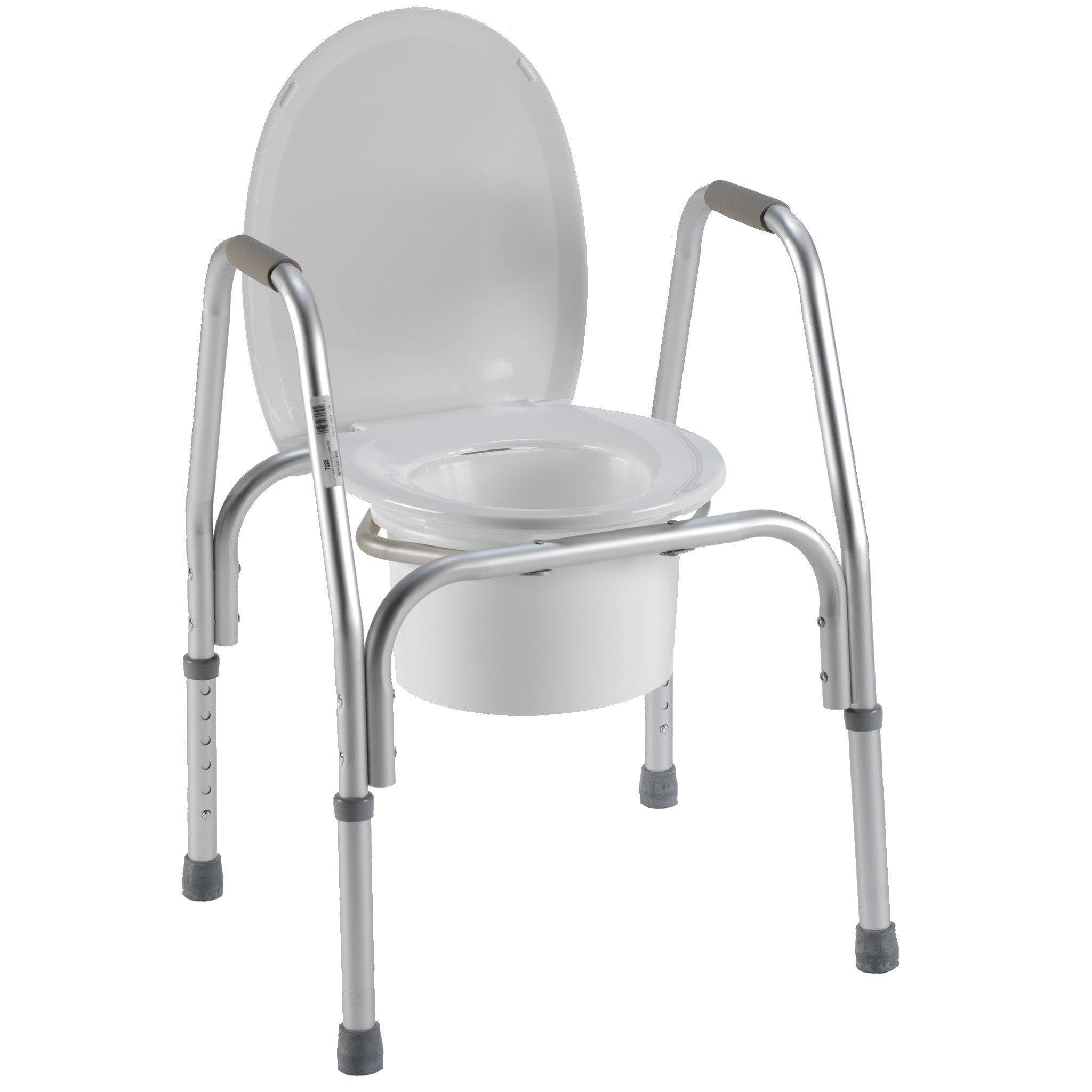 7025 / 3-in-1 Aluminum Commode – PCPMedical