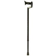 Men's Large Black Adjustable Orthopaedic Handle Cane