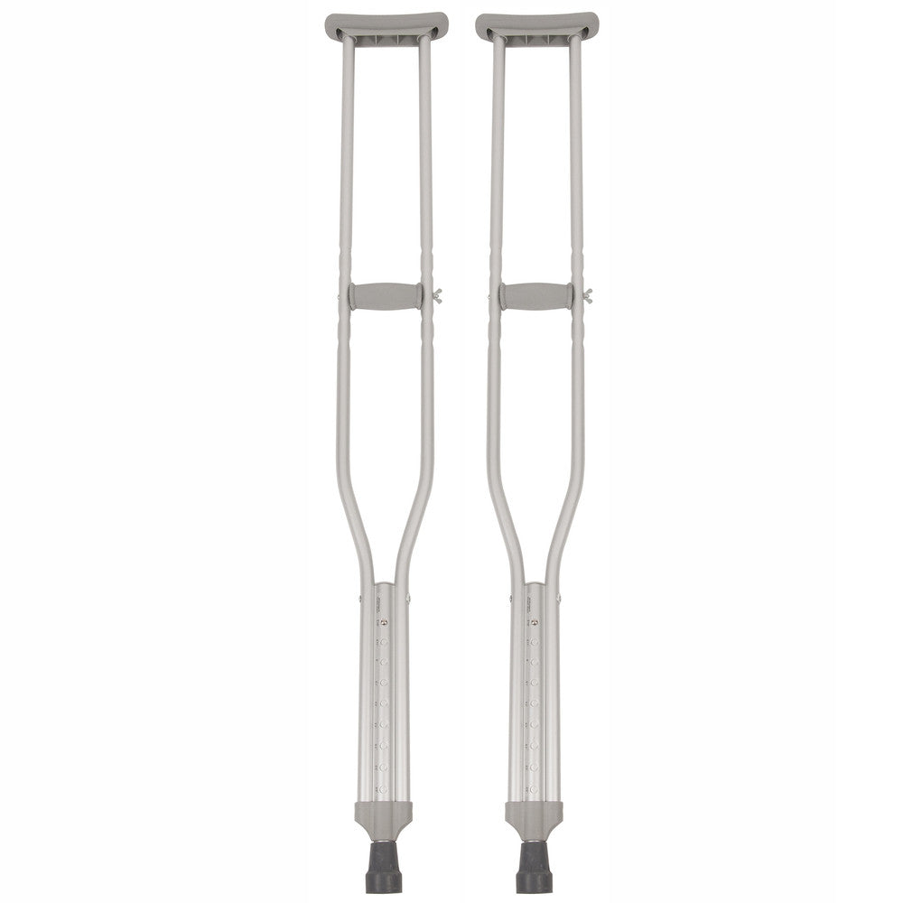 Adult Tall Push-Button Crutches