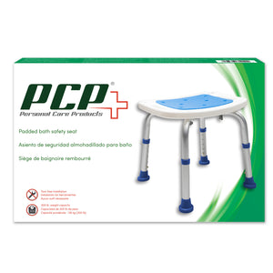 Padded Bath Safety Seat Packaging