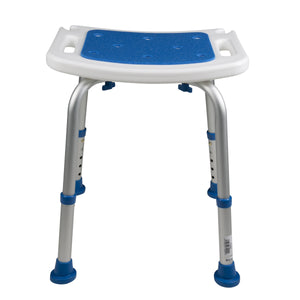 Front of Padded Bath Safety Seat
