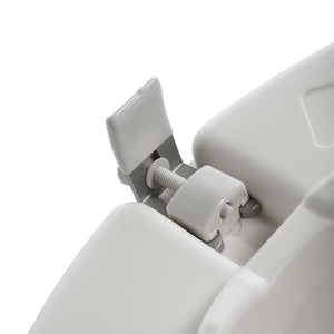 "5"" Universal Raised Toilet Seat Twist and Lock Clamps"