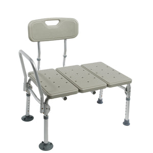 Folding Transfer Bench with Collapsed Legs