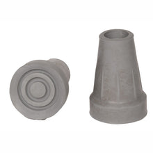 "Grey 3/4"" Replacement Cane Tips"