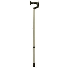 Medium Grip Silver Frost Adjustable Orthopaedic Handle Cane