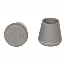 "Grey 7/8"" and 1"" Diameter Replacement Cane Tips"