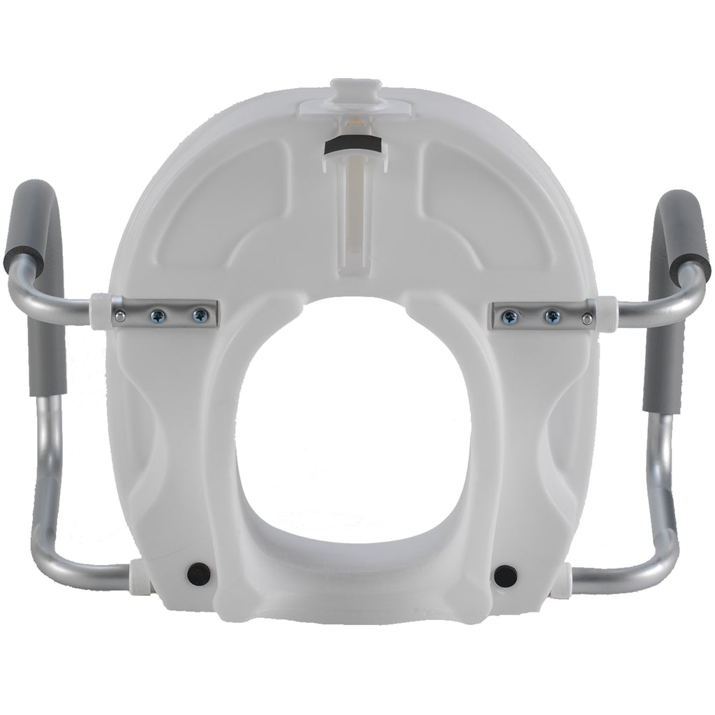7016 Molded Raised Toilet Seat With Removable Arms